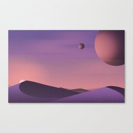 Unknown Planet Canvas Print