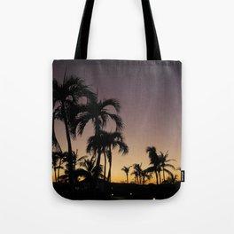 Tropical Evening Tote Bag
