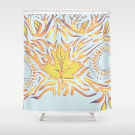 The Woodlands Shower Curtain