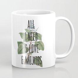 All I need is mojitos Coffee Mug