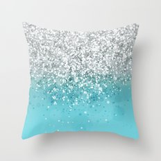 Glitteresques XXXIII Throw Pillow