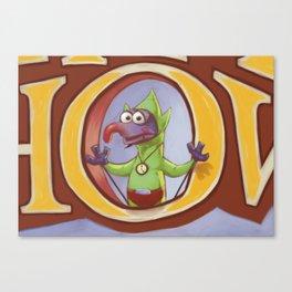 THE ZELDA SHOW : TINZO Canvas Print