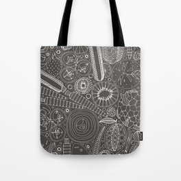 the good stuff mono Tote Bag