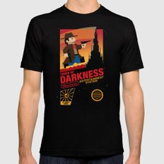 Tower of Darkness X-LARGE Mens Fitted Tee Black