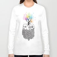 tree of life Long Sleeve T-shirts featuring Tree Of Life by Heiko Windisch