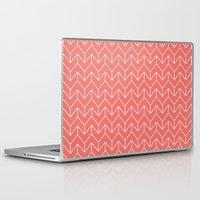 chevron Laptop & iPad Skins featuring Chevron by Dizzy Moments