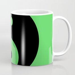 Yin & Yang (Black & Green) Coffee Mug