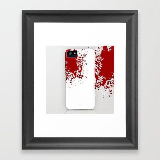 Bloody ... Framed Art Print
