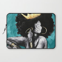 Naturally Queen VI  TEAL Laptop Sleeve