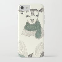 into the wild iPhone & iPod Cases featuring wild by maria elina
