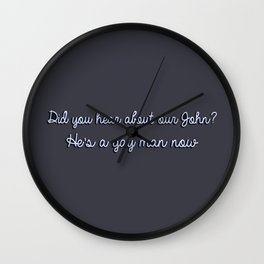 Our John Wall Clock