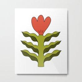 Spring Tulip Flower Metal Print