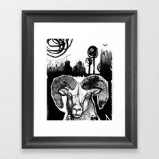 Ram City Framed Art Print