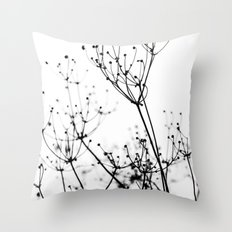 Abstract Flowers 7 Throw Pillow