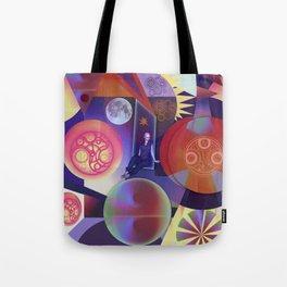 Galactic woman Tote Bag