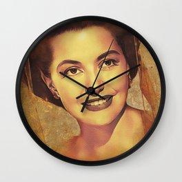 Cyd Charisse, Hollywood Legend Wall Clock