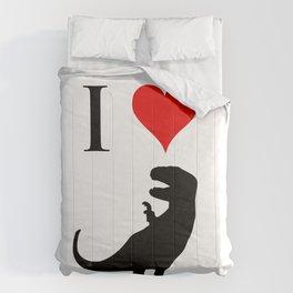 I Love Dinosaurs - T-Rex Comforters