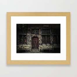 The Door... Framed Art Print