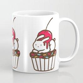 Chubby Bunny on a cupcake Coffee Mug