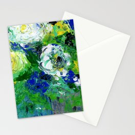Abstract Floral - Botanical Stationery Cards