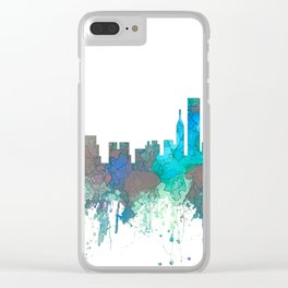 Chicago, Illinois Skyline - SG Jungle Clear iPhone Case