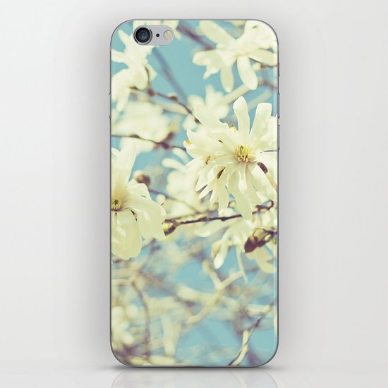 Spring In Blue iPhone & iPod Skin