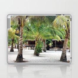 Bungalows on Palm Beach Laptop & iPad Skin