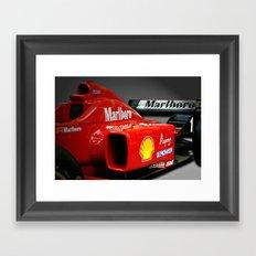 Ferrari F1 Framed Art Print