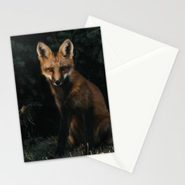 Foxing at me Stationery Cards