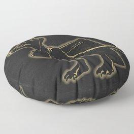 Electric (Prehistoric) Warrior Floor Pillow