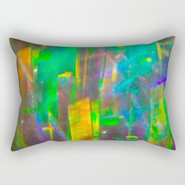 Prisms Play of Light 4 Rectangular Pillow