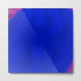 Blue Damsel Metal Print