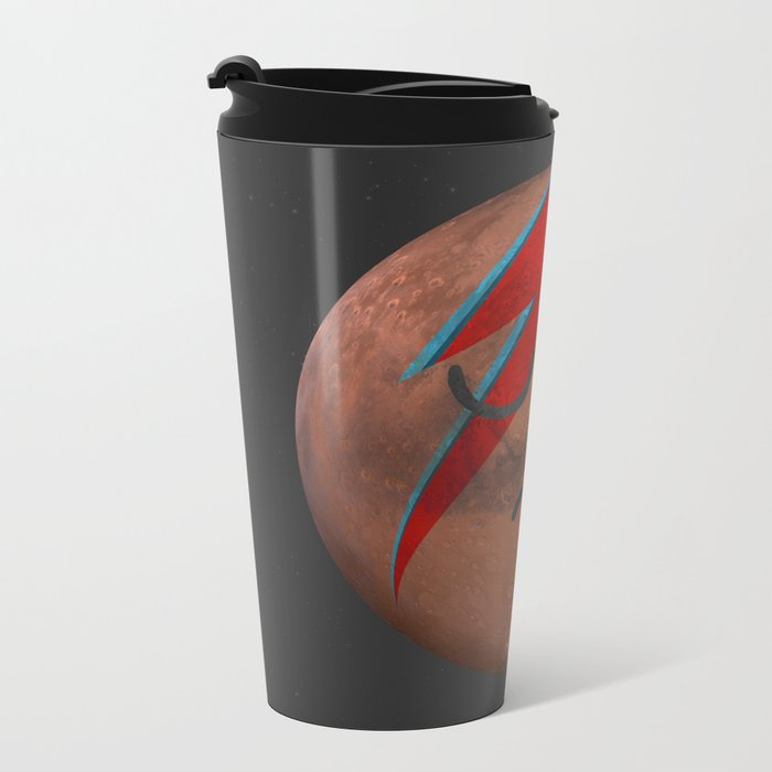Life on Mars? Metal Travel Mug