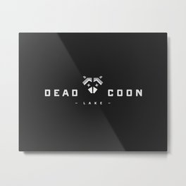 Dead Coon Lake Metal Print