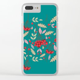 Guelder rose Clear iPhone Case