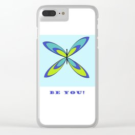 Be You Clear iPhone Case