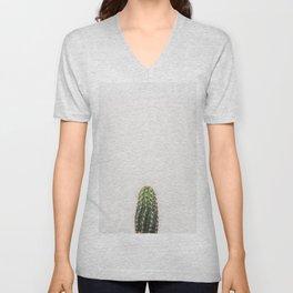 Trendy cactus plant Unisex V-Neck