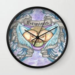 Horroroscopo Geminis Wall Clock