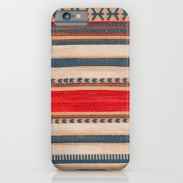 N66 - Classic Oriental Moroccan Style Fabric. iPhone Case
