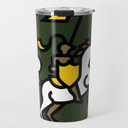 Knight on Green Travel Mug