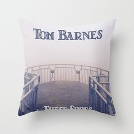 Tom Barnes These Shoes Throw Pillow