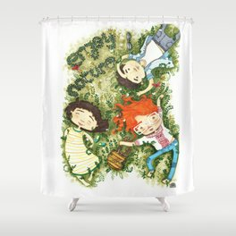 Enjoy nature Shower Curtain