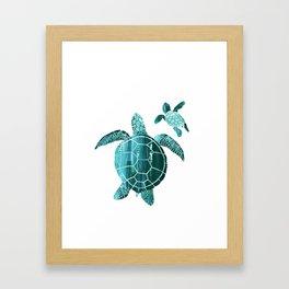 Shielded Love Framed Art Print