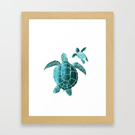 Shielded Love Framed Art Print