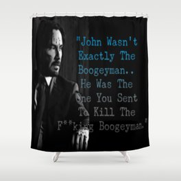 Wick's Creed Shower Curtain