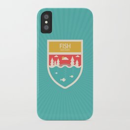 Wilderness: Fish Hatchery iPhone Case