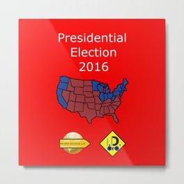2016 Presidential Elecion Metal Print