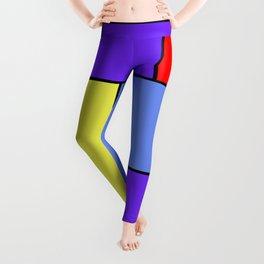 Abstract #482 Leggings