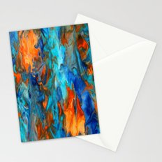 Orange and Teal Stationery Cards