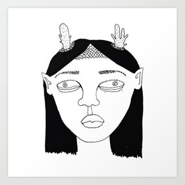 Elf #3 Art Print